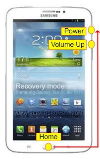 Hard Reset Samsung Galaxy Tab 3 Lite T111