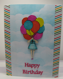 Happy Birthday by Gail features Holding Happiness by Newton's Nook Designs; #newtonsnook