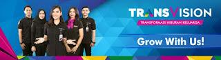 Bursa Lowongan PT. INDONUSA TELEMEDIA (Transvision)
