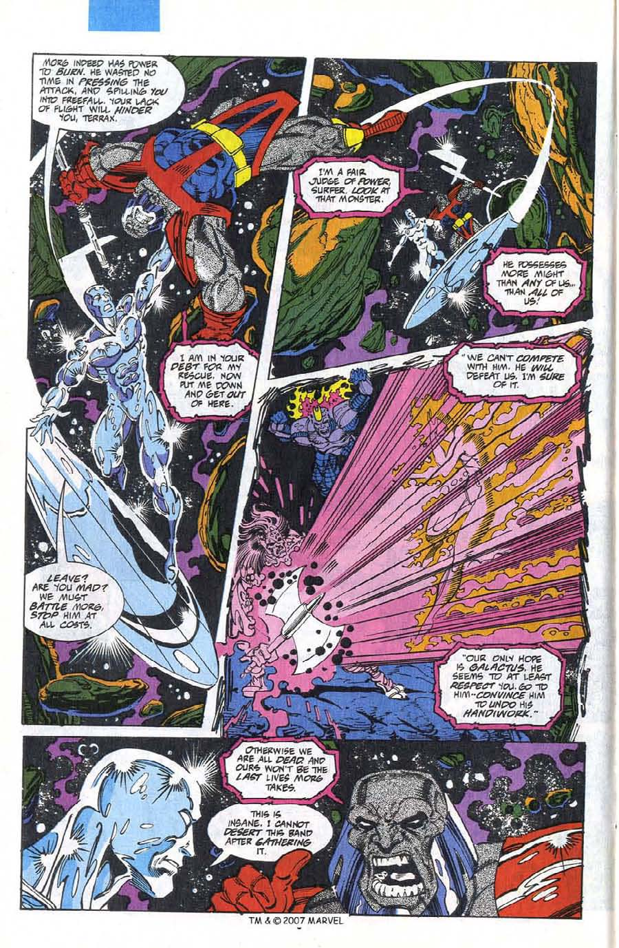 Read online Silver Surfer (1987) comic -  Issue #75 - 8