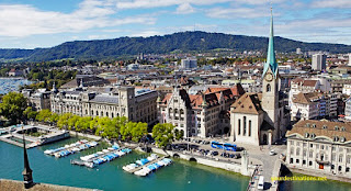 Expensive Cities, Zurich Switzerland