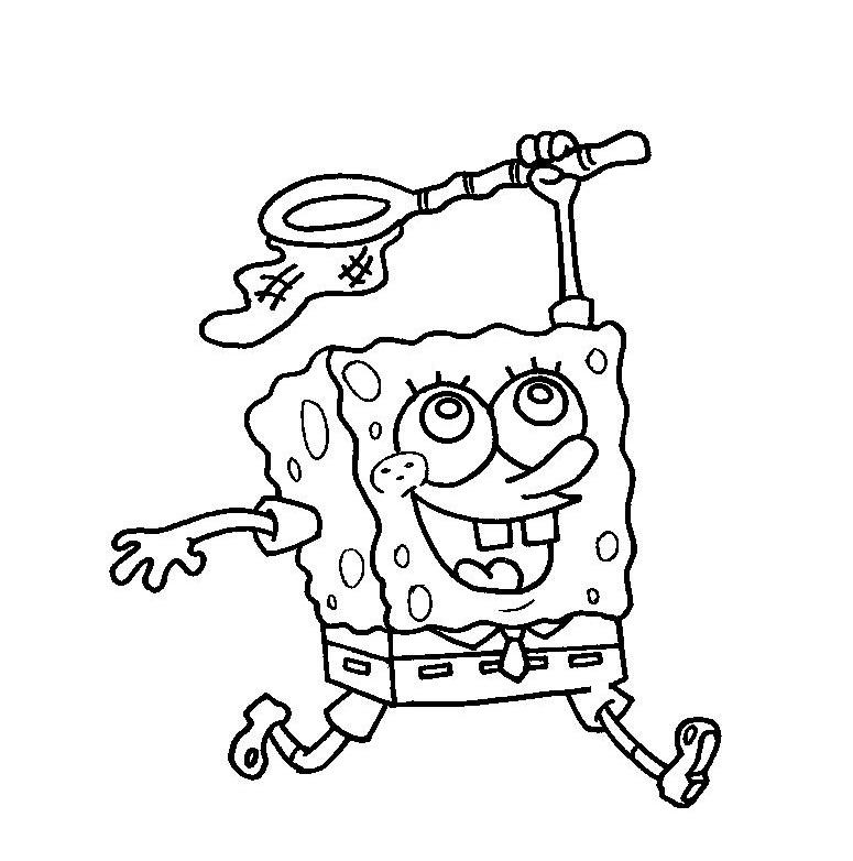 Desenhos Do Bob Esponja Para Colorir E Imprimir