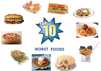 Top 10 Worst Restaurant Foods
