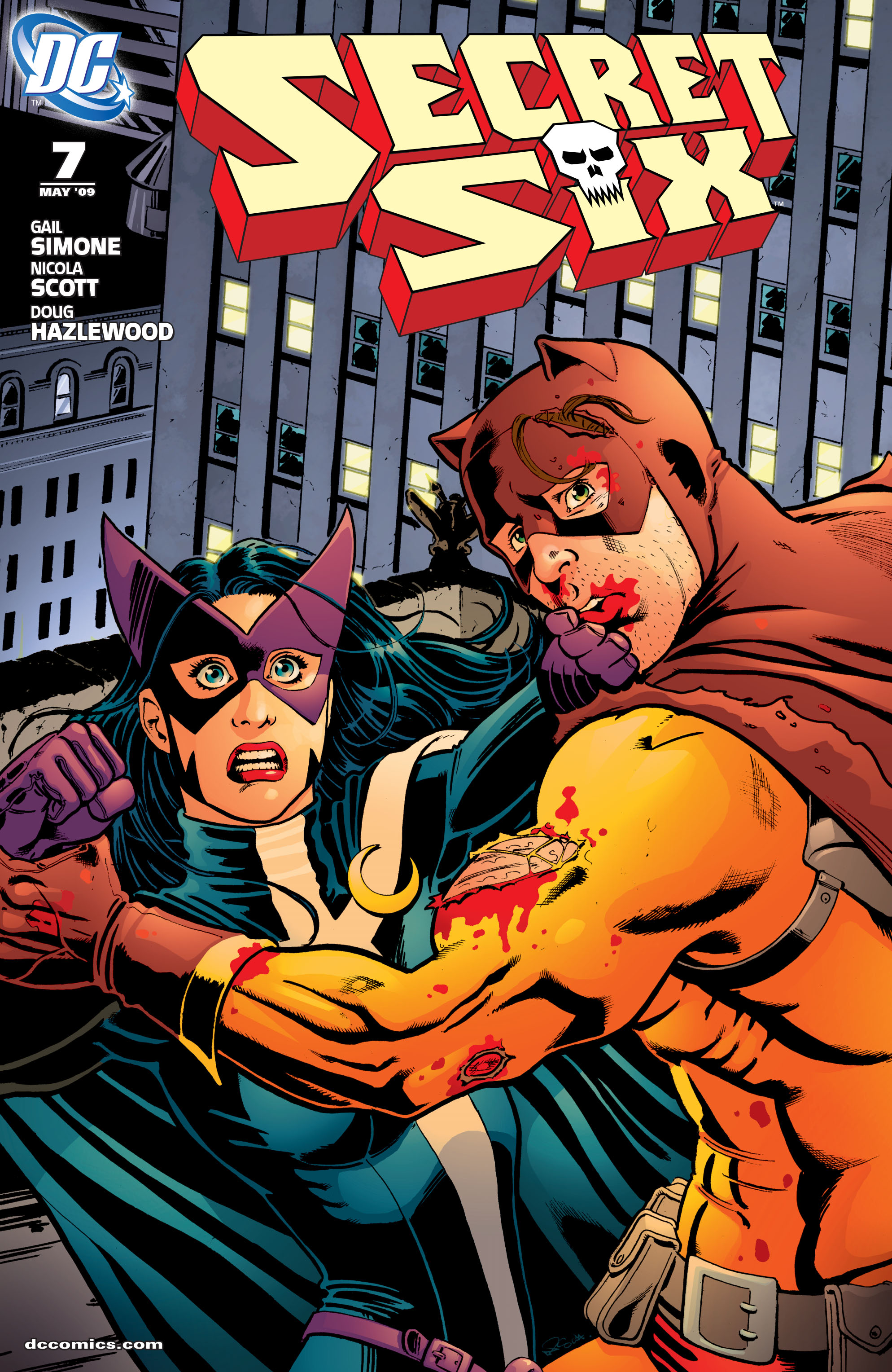 Read online Secret Six (2008) comic -  Issue #7 - 1
