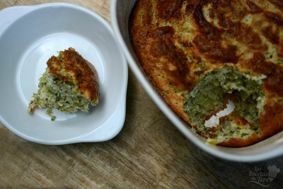 Soufflé de brócoli 01