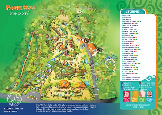 Harga Tiket Taman Tema Escape Teluk Bahang Terkini 2018
