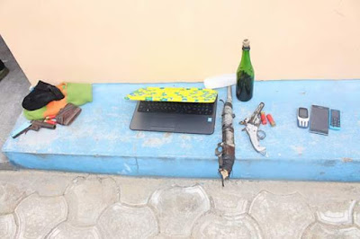 Photos: Police nab 56 suspected kidnappers, armed robbers and cultists in Akwa Ibom