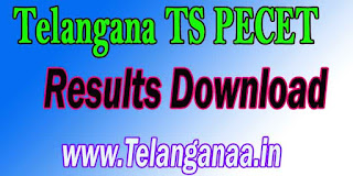 Telangana TS PECET Results TSPECET 2017 Results Download