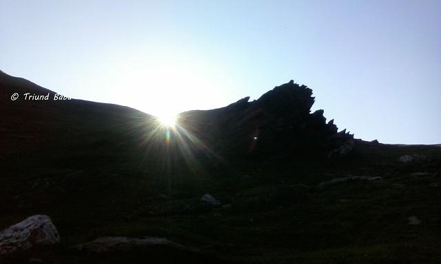 Sunrise over and around Jalsu Pass
