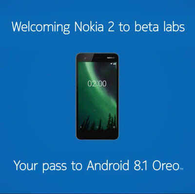 Android 8.1 Oreo Beta now available for Nokia 2