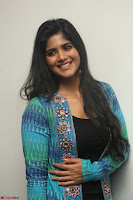 Megha Akash in a beautiful Anarkali dress with Long Jacket at LIE success meet ~  Exclusive Celebrities Galleries 010.JPG