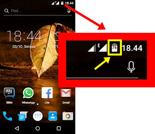 Cara Menampilkan Angka Persen Baterai Android One Tanpa Root (Mito Impact A10, Nexian Journey 1, Evercoss One X)