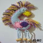 patron gratis caballo amigurumi, free pattern amigurumi horse