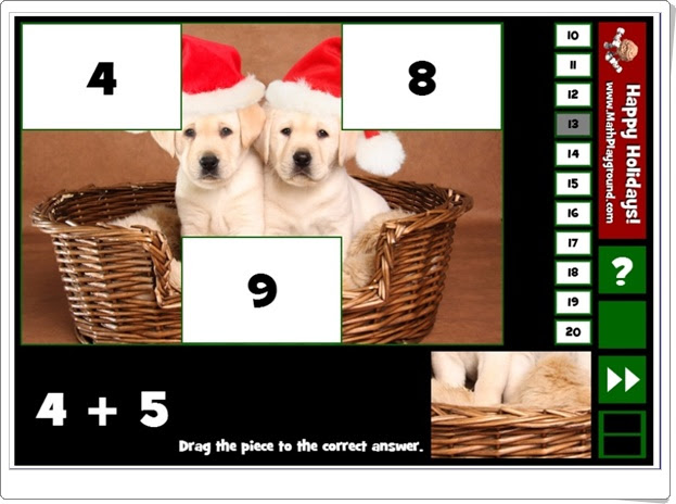 http://www.mathplayground.com/holiday_puzzle_pics_addition_facts_to_20.html