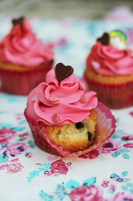 Duo Colour Love Cupcakes