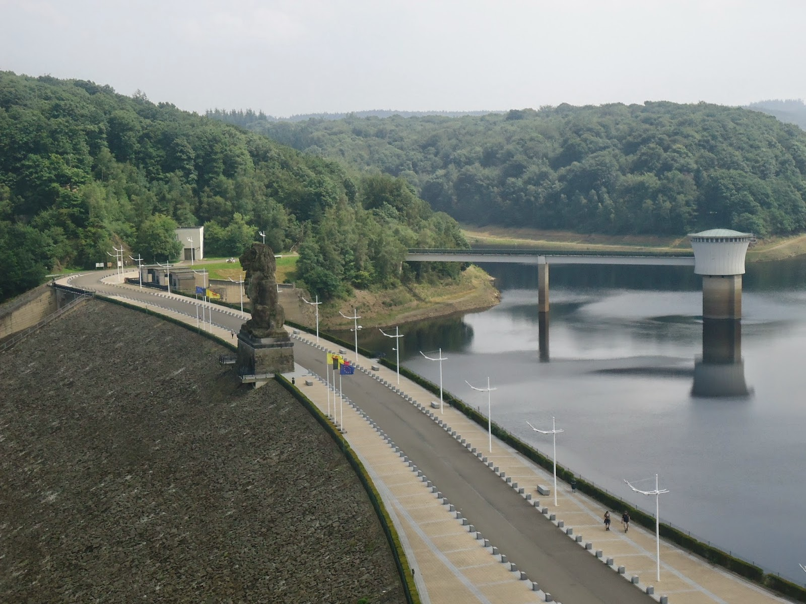 Gileppe Dam Verviers Belgium Travel