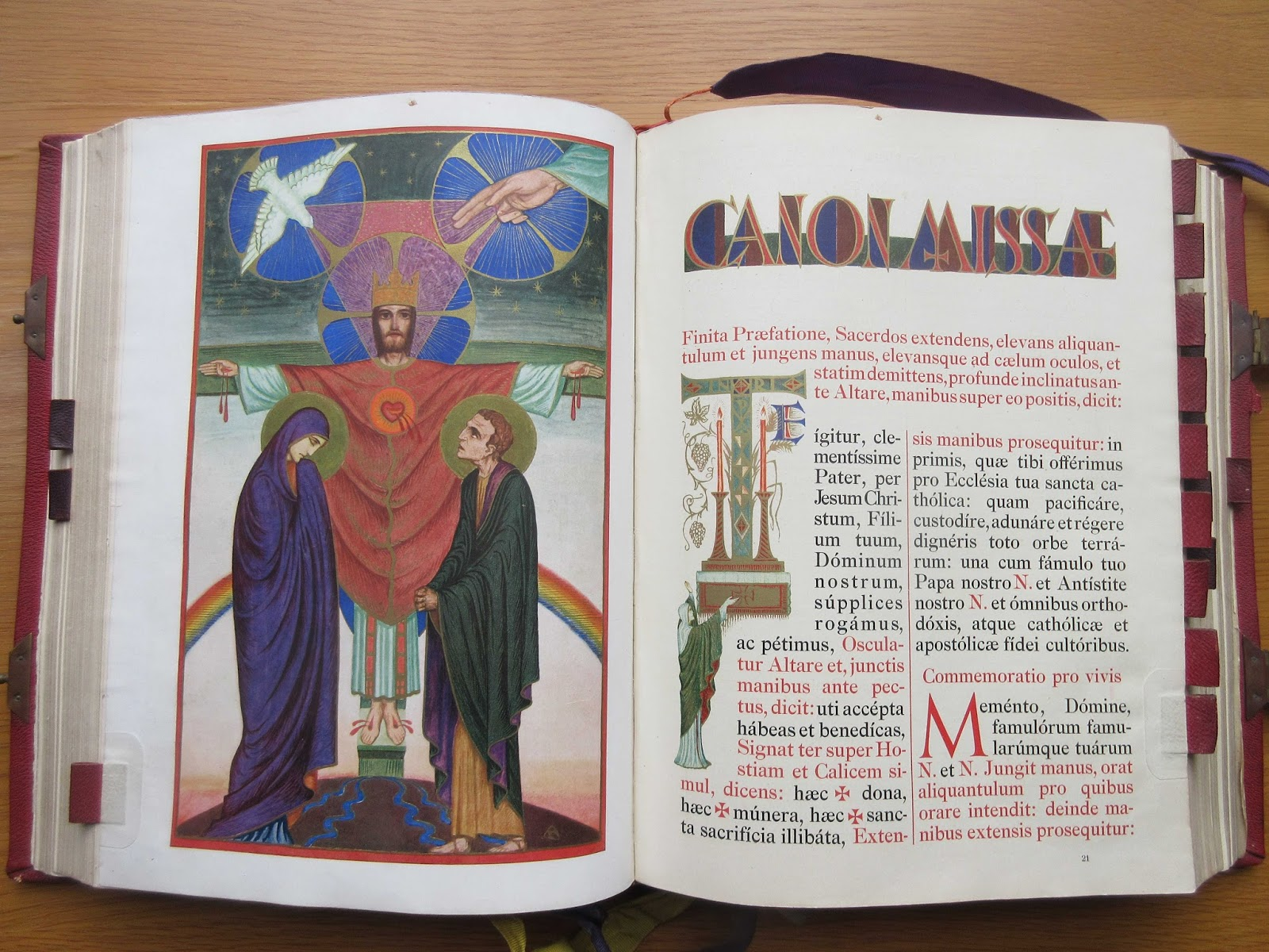 new liturgical movement missals from silverstream priory  this missal takes the prize for the largest number of thematic drawings i have ever seen in any altar missal an incredible attention to detail governs