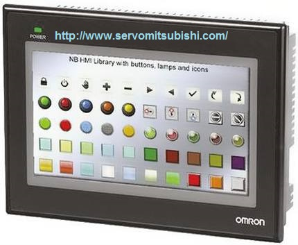 Đại lý bán màn hình HMI Omron NB7W-TW01B tích hợp cổng Ethernet