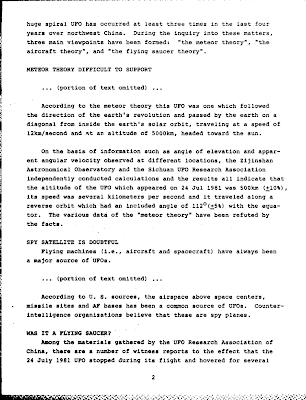 First UFO Incident for Our Country 11-4-1982 (Pg 2)  (DTIC)
