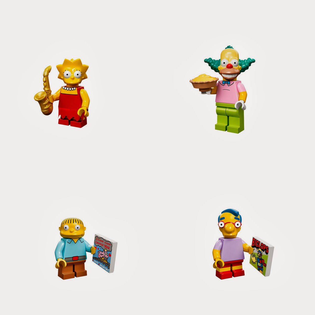 Rue du chat qui pêche | {Kids} 16 Amazing Lego Simpsons figurines