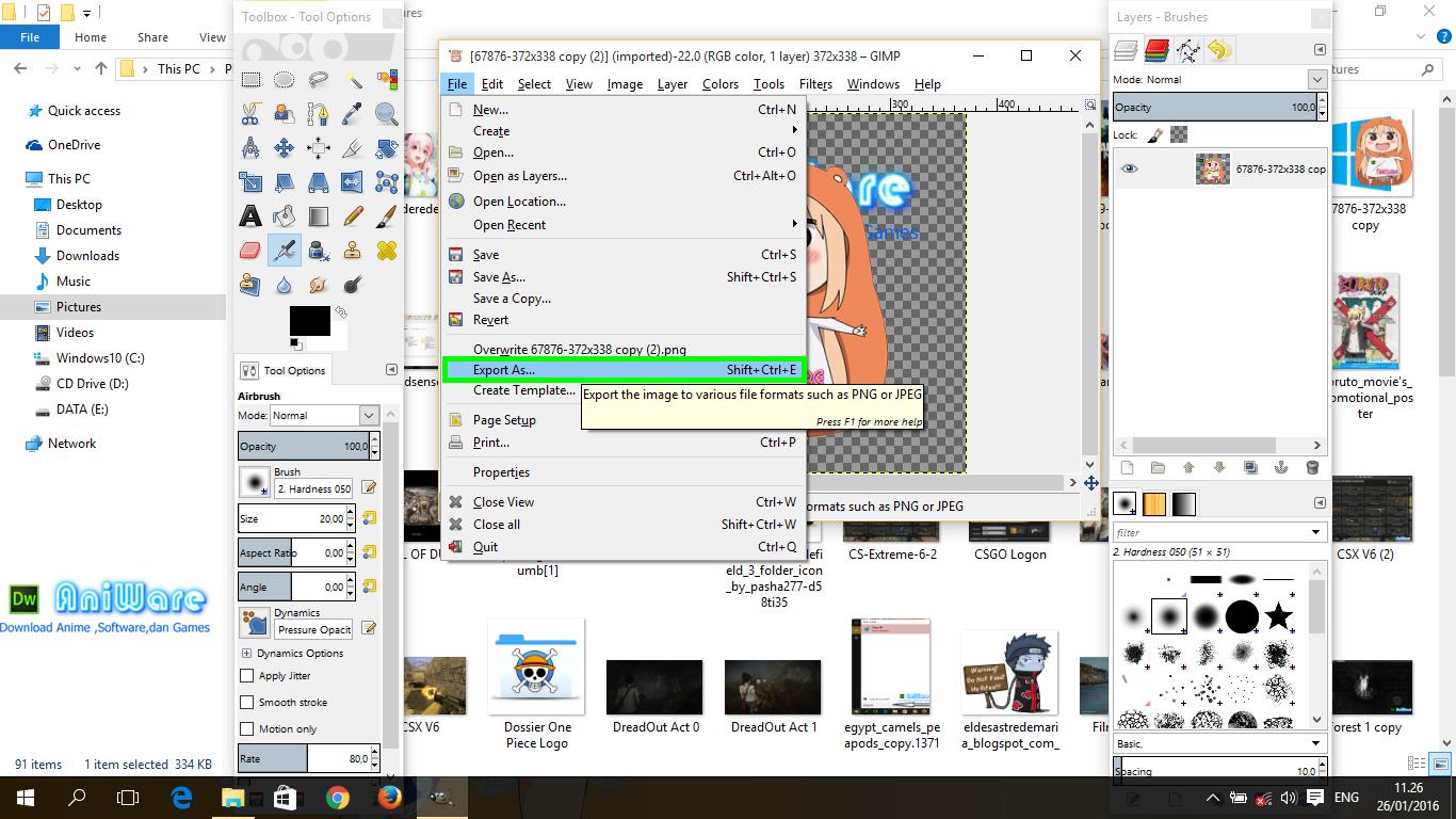 Icon Pc Anime Untuk Folder Keren Ann Elitepoks