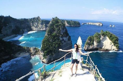 Tempat wisata pulau seribu di nusa penida
