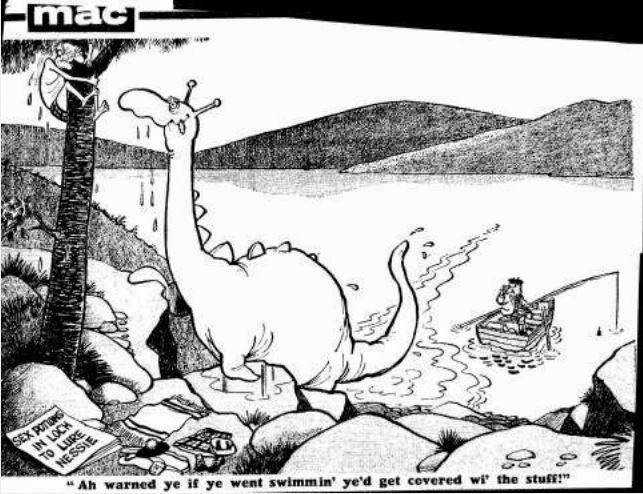 Loch Ness Monster Nessie Cartoons Through The Years