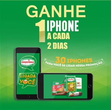 Promoção Orquídea - Um Iphone 8 a cada DOIS dias