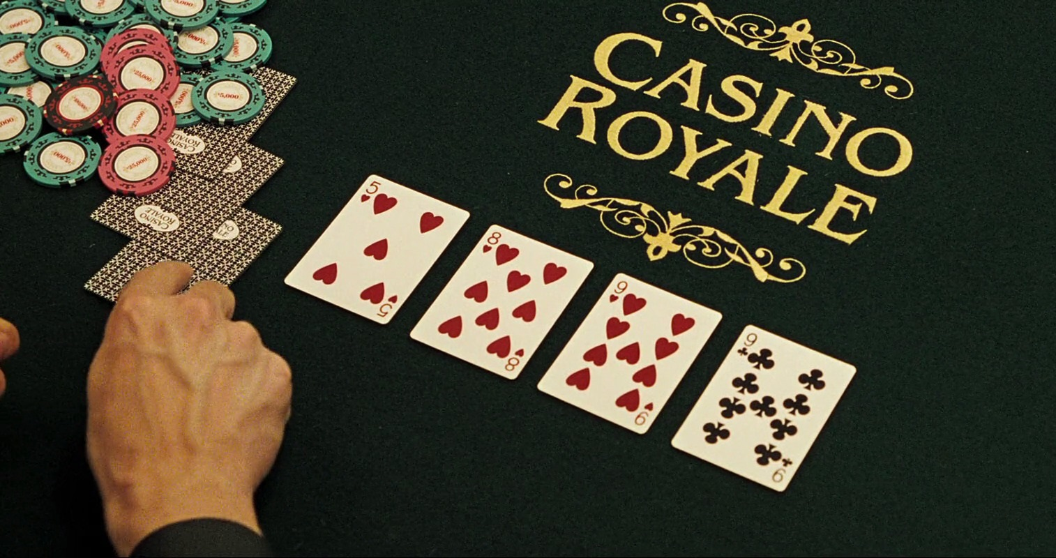 Casino Royale cards table