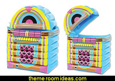 Inflatable Jukebox Cooler