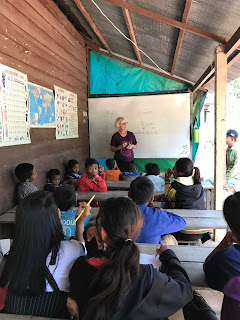 me teaching in Cambodia