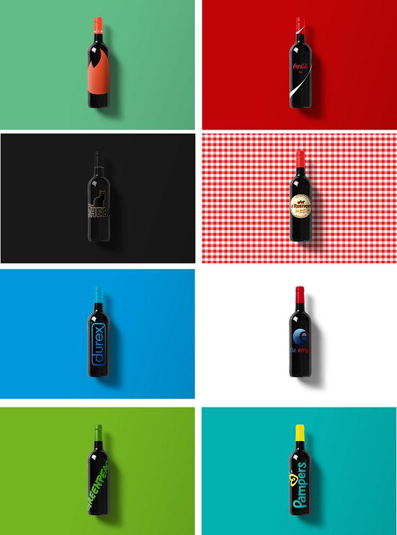 beaux-vins bouteille design marques vin