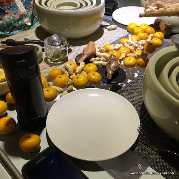 nesting dining bowls at Ou Ceramic in Wenzhou, China