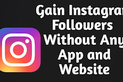 How to increase instagram followers without any app and website