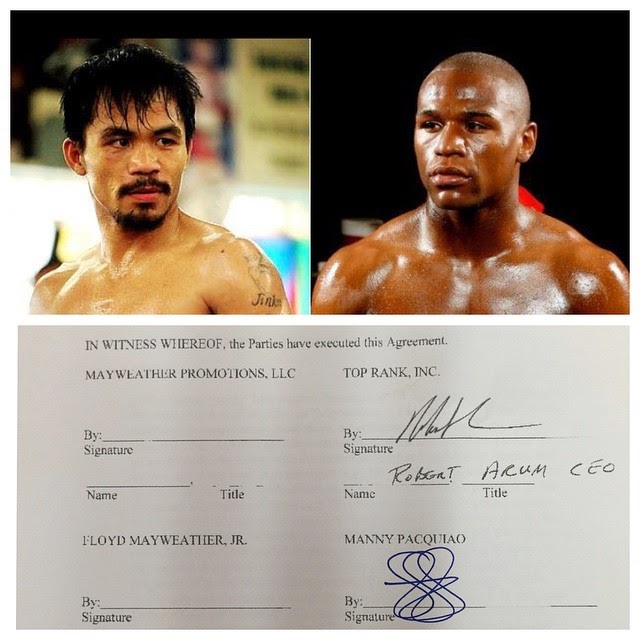 Manny Pacquiao vs Floyd Mayweather Jr Watch Pay Per View