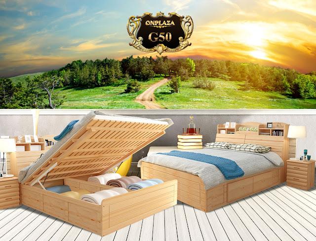 Giường ngủ hiện đại đẹp nhất G50