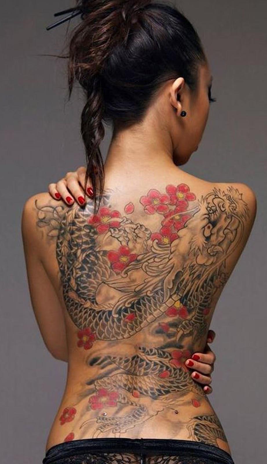 Tatuajes De Dragonessignificado Y Diferencias Japón China