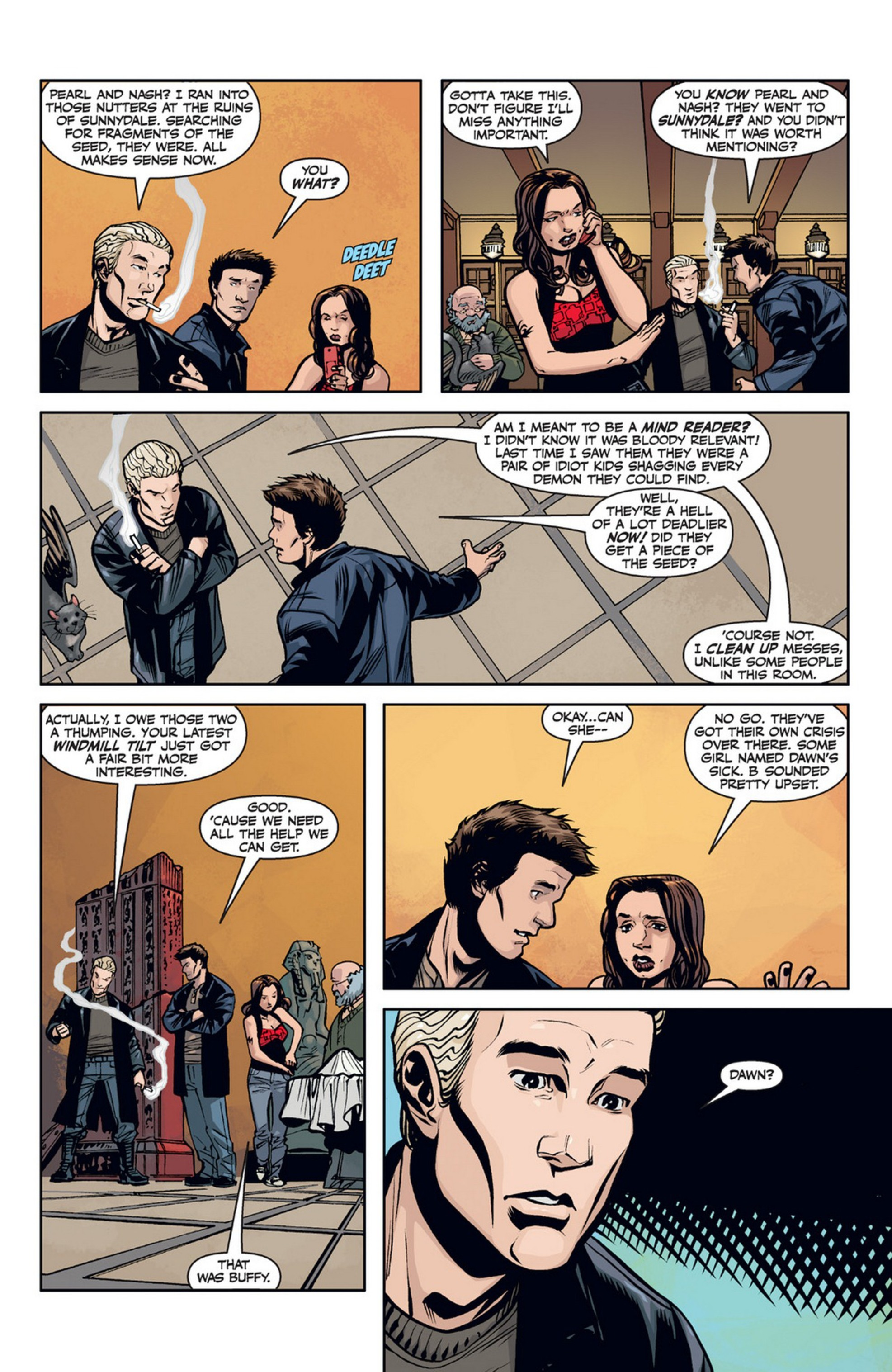 Read online Angel and Faith comic -  Issue #21 - 6