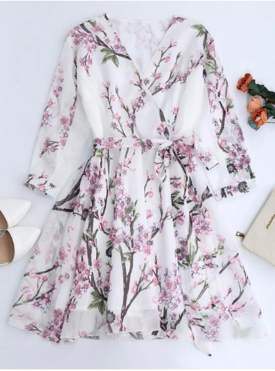 Wishlist Zaful: Floral Retro Dress