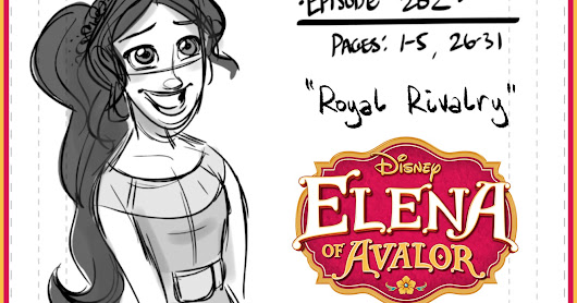 My First Episode of Elena of Avalor Premiered!