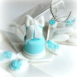 MINI WEDDING CAKE TIFFANY STYLE