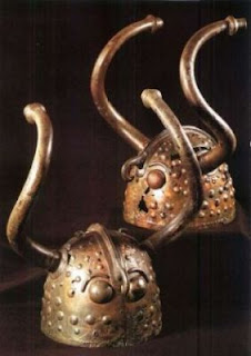 Late Bronze Age helmets from Denmark