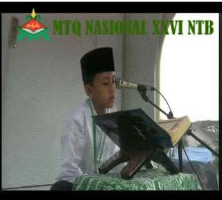 MTQ Nasional XXVI NTB 2016 - Tilawah Anak-Anak Putra (A. Robith Dliyaul Haq - Surat Al-Baqarah Ayat 142)
