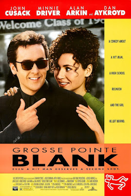 Poster Of Free Download Grosse Pointe Blank 1997 300MB Full Movie Hindi Dubbed 720P Bluray HD HEVC Small Size Pc Movie Only At worldfree4u.com