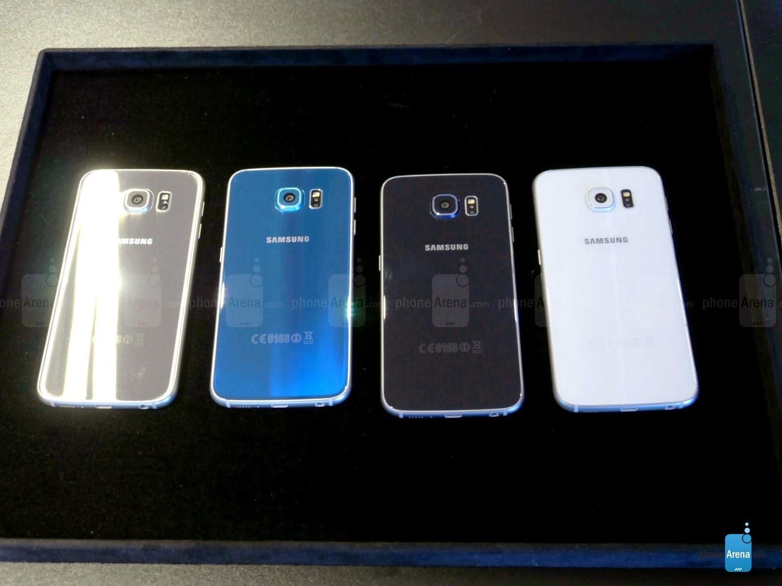 Samsung Galaxy S6 hands-on - T Best mobile phones