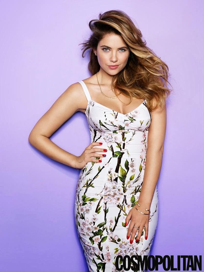 Ashley Benson Cosmopolitan US Magazine Photoshoot March 2014 HQ Pictures