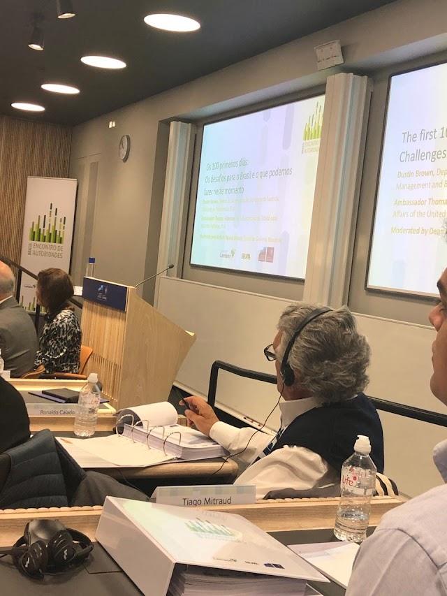 Oxford: Caiado participa de estudos para implantar uma gestão mais eficiente