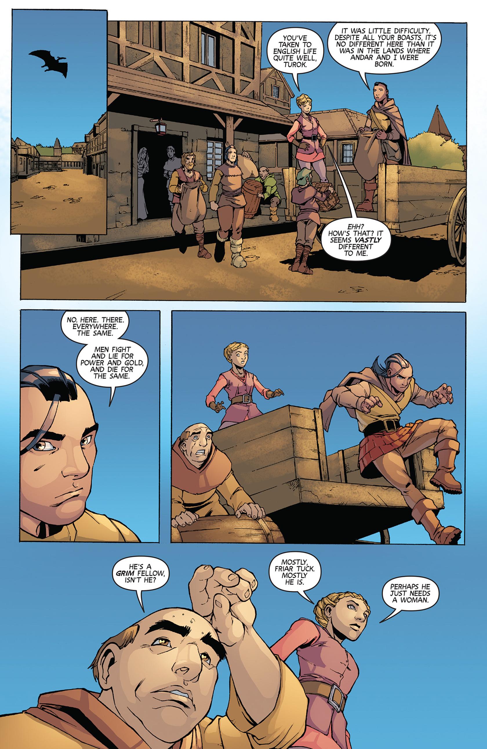 Read online Turok: Dinosaur Hunter (2014) comic -  Issue #11 - 17