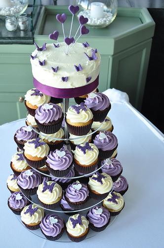 Wedding Cup Cakes Ideas  Wedding Bells