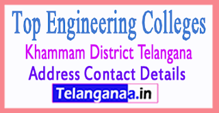 Engineering Colleges In Khammam District Telangana